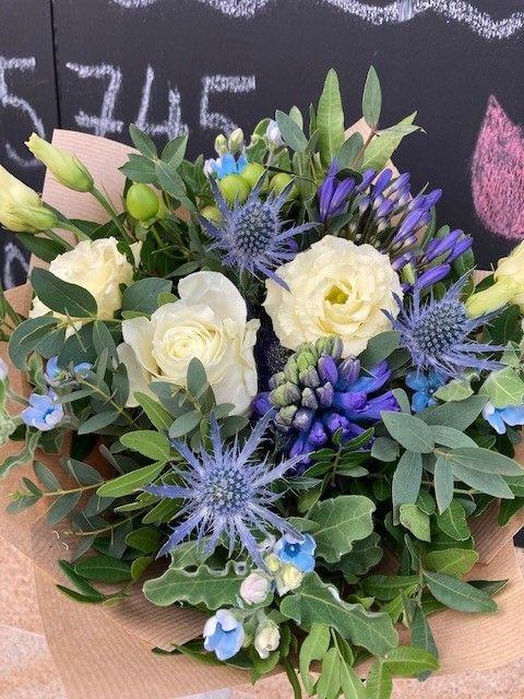 Malá kytice pro rozvoz květin