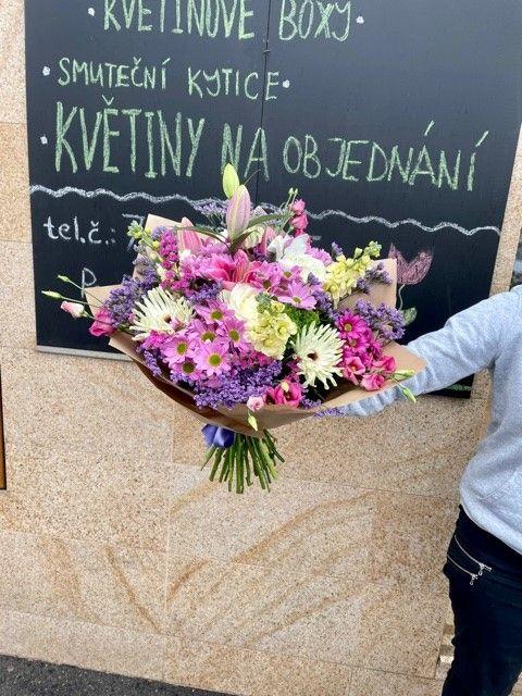 Doručení a rozvoz květin po Praze