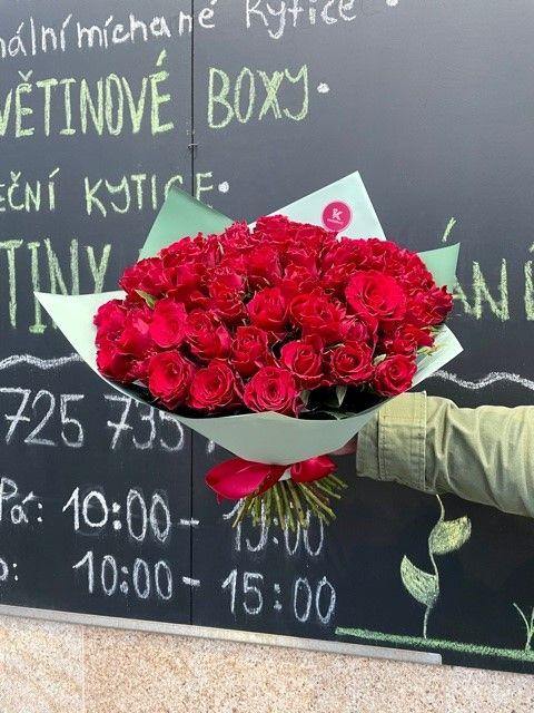 Kytice růží květinářství Praha