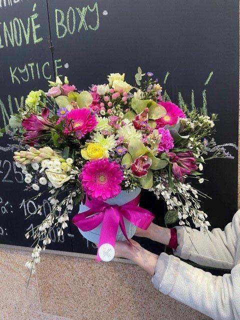 Flower box Praha květinářství Strašnice