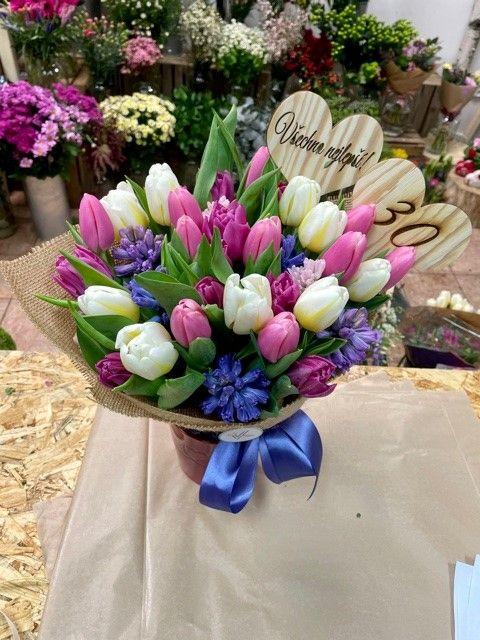 Rozvoz květin po Praze a okolí