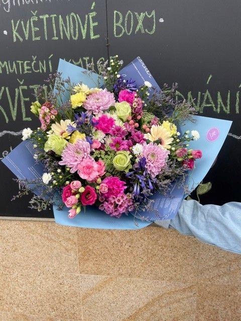 Rozvoz květin Praha a okolí z květinářství Strašnice