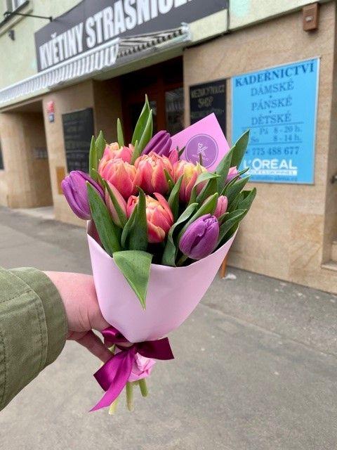 Květinářství Praha 10 Strašnice tulipány