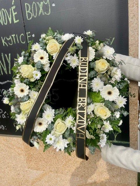 Smuteční kytice Krematorium Strašnice Praha