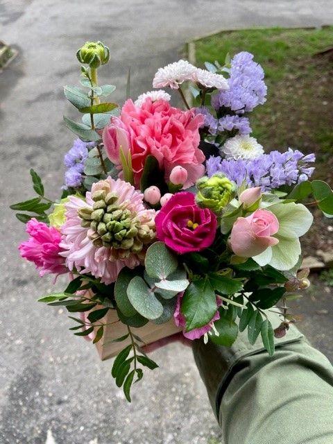 Květinové krabičky květinářství Praha