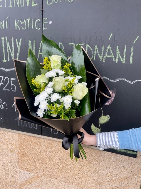 Smuteční kytice květinářství Praha