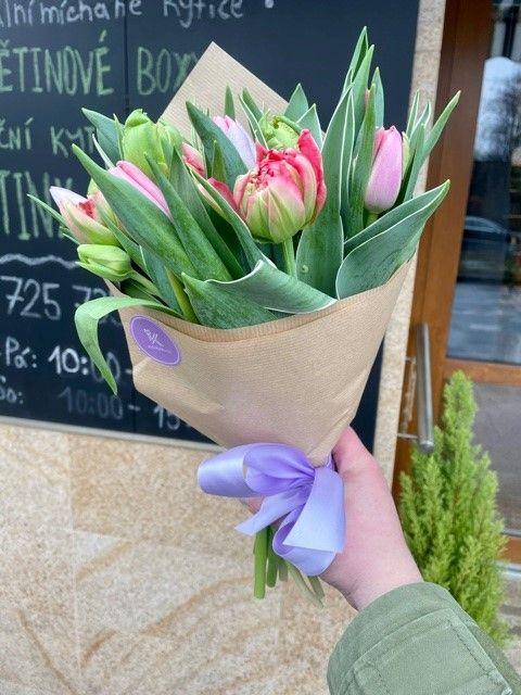 Tulipány z pražského květinářství Praha 10