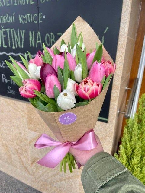 Tulipány pro rozvoz květin po Praze a okolí