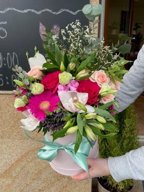 Květinová krabička květinářství Praha 10