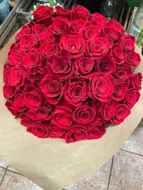 Kytice růží z květinářství Praha