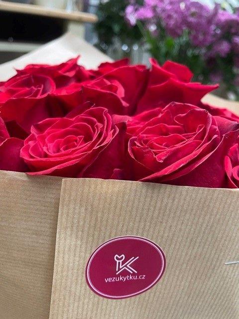 Luxusní růže z květinářství Praha