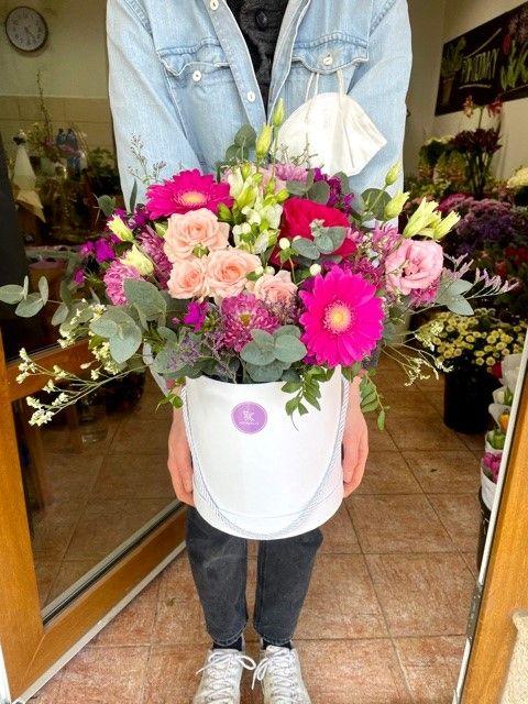 Flowerbox pro doručení z květinářství Praha