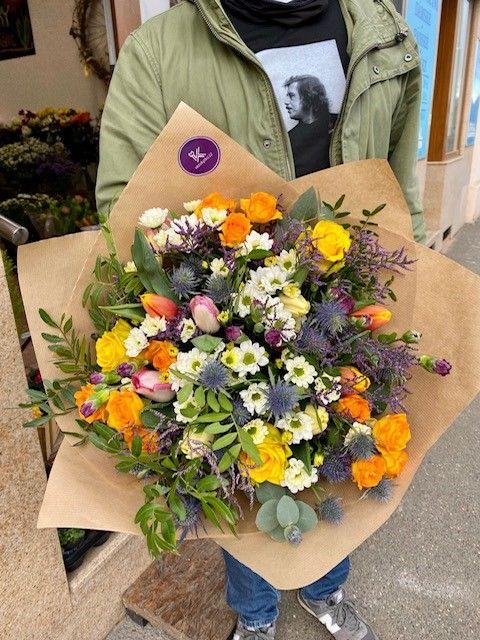 Kytice pro rozvoz květin. Květinářství Praha 10