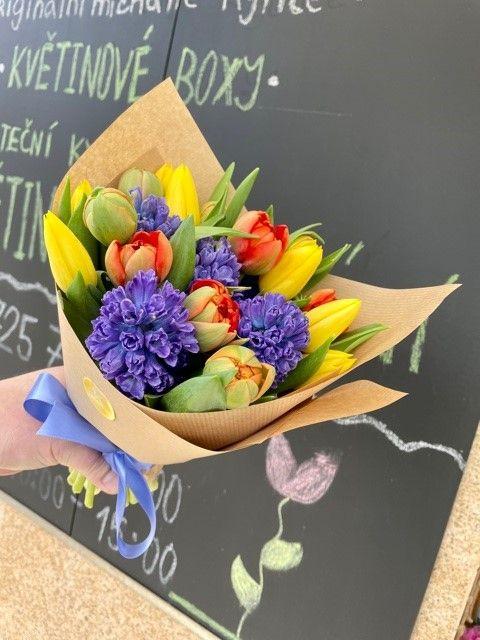 Rozvoz jarních květin po Praze