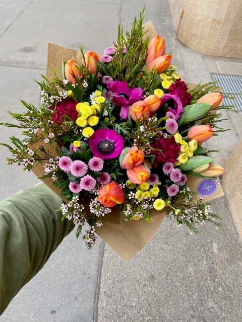 Květiny doručíme expres po Praze