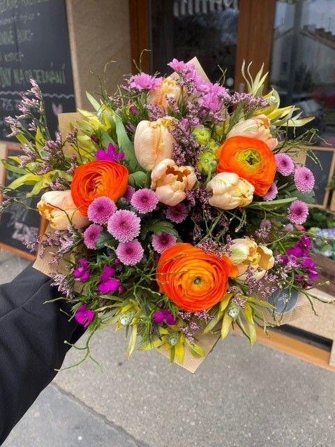 Květinářství a rozvoz květin Praha
