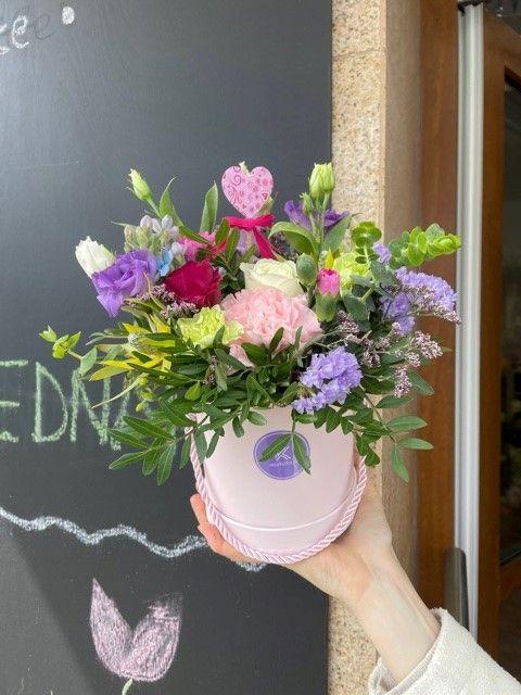 Květinové krabičky rozvoz Praha