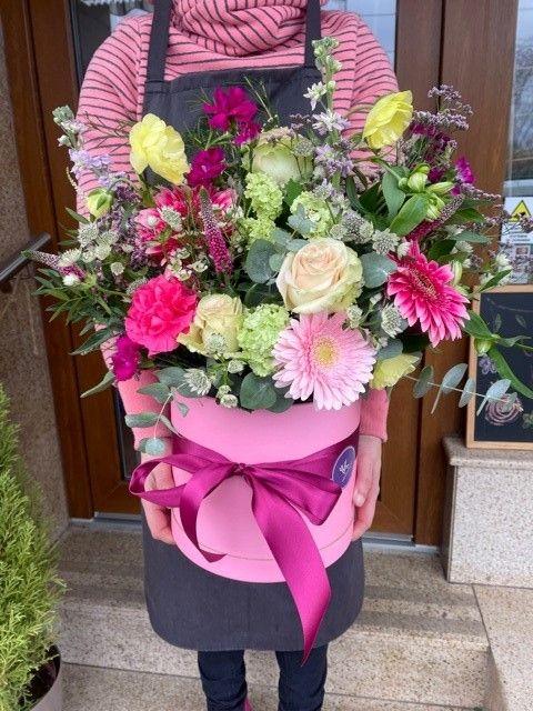 Květinový box květinářství Praha