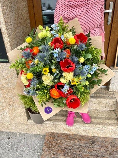 Rozvoz květin online po Praze a okolí