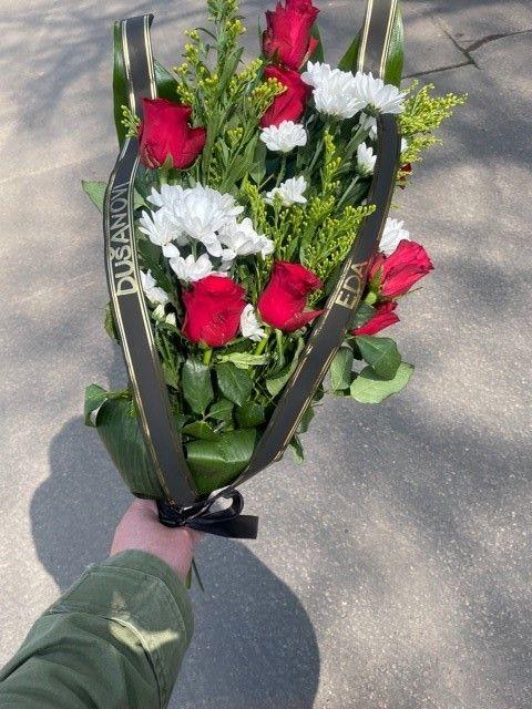 Pohřební kytice Praha