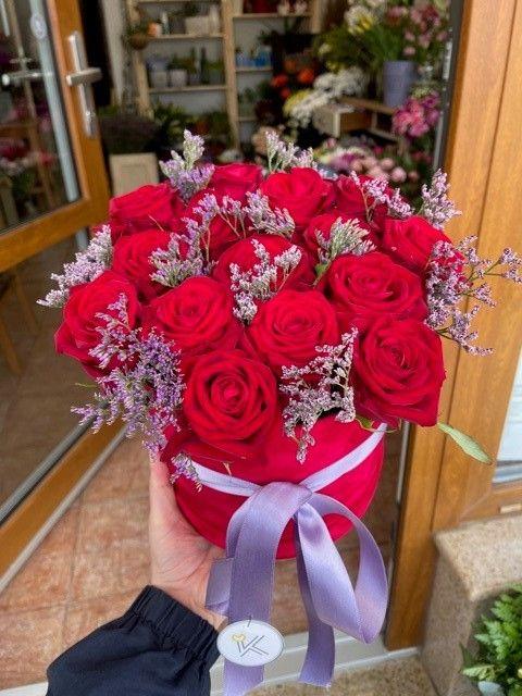 Květinové boxy z růží