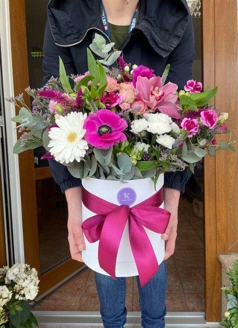 Velká květinová krabička Praha