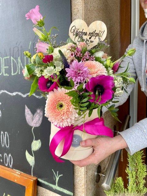 Květinový box Strašnice