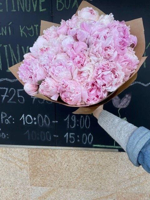 Kytice pivoněk online květinářství