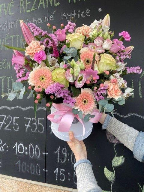 Big květinový box