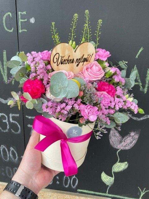 Květinový box s rozvozem po Praze