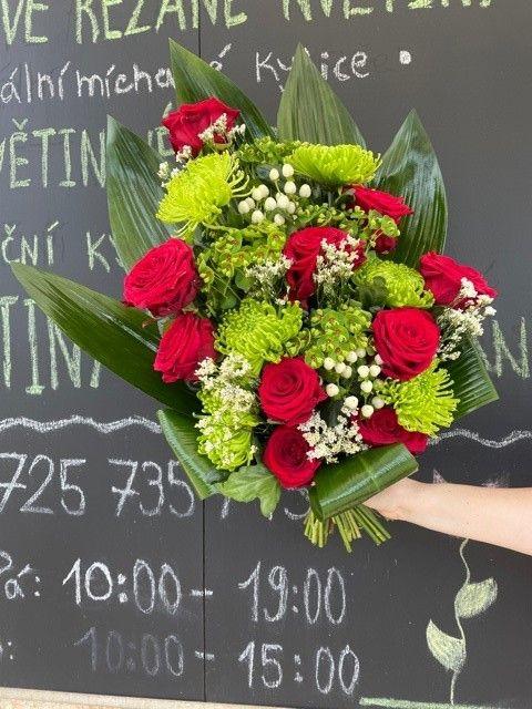 Smuteční kytice na položení Praha