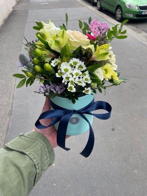 Pánský květinový box