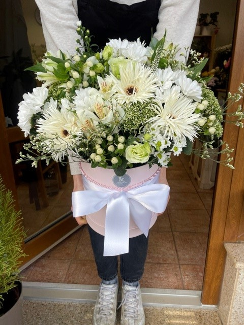 Květiny v krabičce Praha