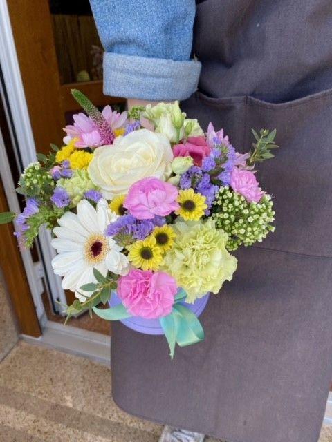 Květinové boxy a kytice online