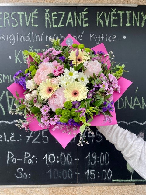 Řezané květiny online Praha