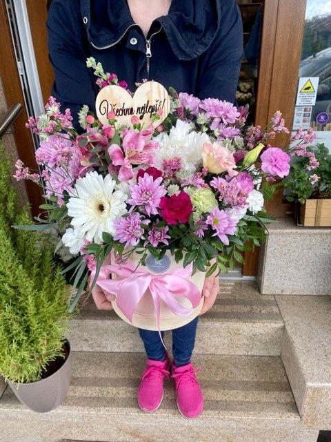 Květinové boxy velké