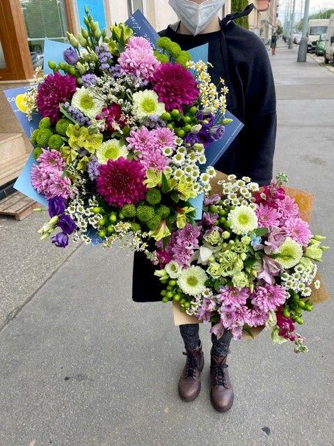 Rozvoz květin po Praze