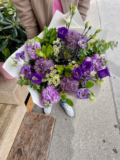 Doručení květin Praha kurýrem online