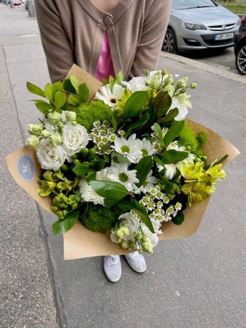 Doručení květin z květinářství Praha