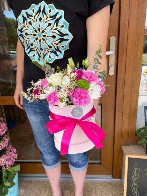 Květinové krabice Praha Strašnice