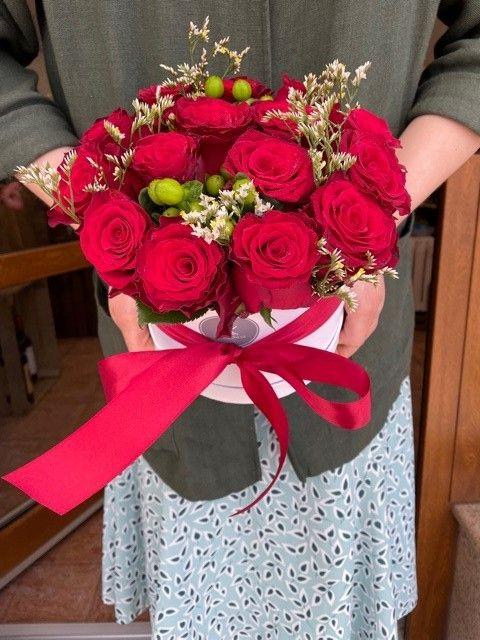 Růže v krabici online