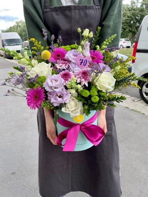 Velká květinová krabička květin Praha