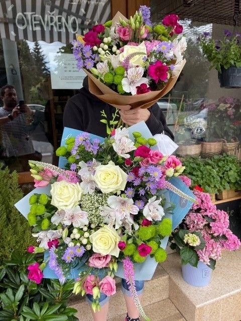 Čerstvé květiny online Praha