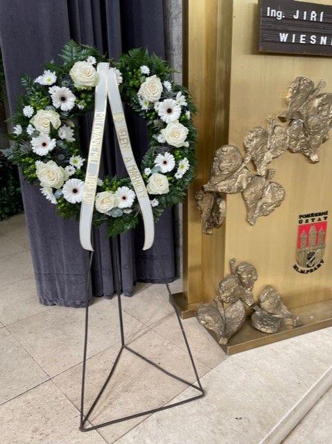 Smuteční věnec krematorium Praha