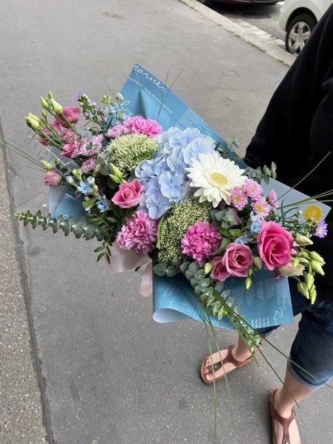 Kytice z online květinářství - hortenzie