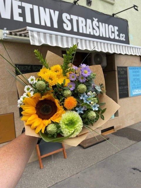 Čerstvé květiny z pražského květinářství online