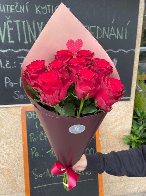Pugét růží květinářství Praha