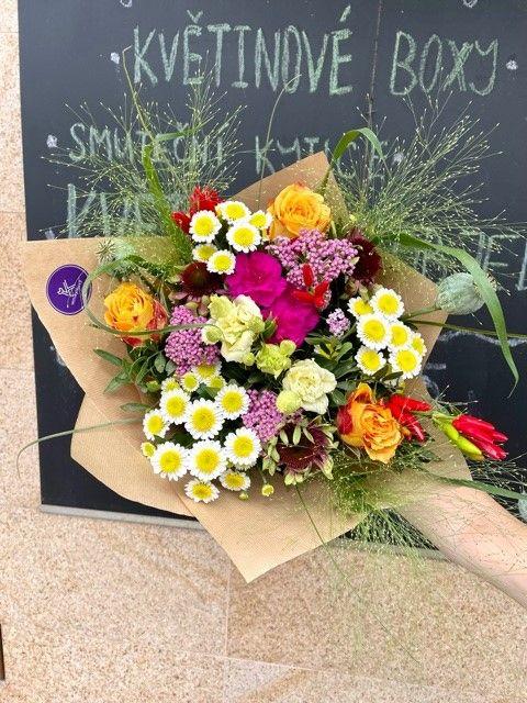 Sezonni kytice z online kvetinarstvi Praha