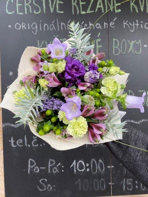 Pražské květinářství ze Strašnic