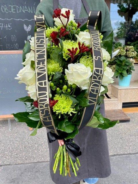 Smuteční a pohřební kytice Praha online